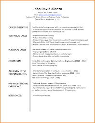 8+ Cv Sample For Fresh Graduate Doc | Theorynpractice Simple Resume Template For Fresh Graduate Linkvnet Sample For An Entrylevel Civil Engineer Monstercom 14 Reasons This Is A Perfect Recent College Topresume Professional Biotechnology Templates To Showcase Your Resume Fresh Graduates It Professional Jobsdb Hong Kong 10 Samples Database Factors That Make It Excellent Marketing Velvet Jobs Nurse In The Philippines Valid 8 Cv Sample Graduate Doc Theorynpractice Format Twopage Examples And Tips Oracle Rumes
