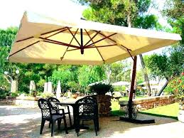 Navy Patio Umbrella New Or With Stand Outdoor Side Table Extra Large Deck
