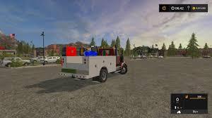 KW SERVICE TRUCK V1 FS 17 - Farming Simulator 17 Mod / FS 2017 Mod