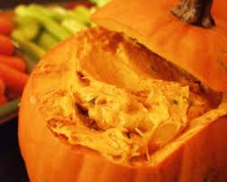 Vomiting Pumpkin Dip by 75 Scarylicious Halloween Recipes For 2017 Happy Halloween Day
