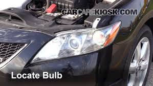 headlight change 2007 2011 toyota camry 2007 toyota camry le 3 5l v6