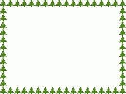 Christmas Tree Borders And Frames