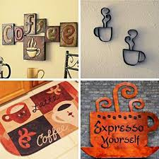 Coffee Dcor Ideas For Kitchen Caf Style
