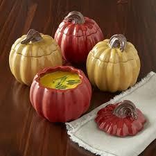Pumpkin Soup Tureen And Bowls by Pumpkin Soup Bowls With Lids Wayfair