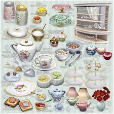 TEA TIME Set 21 New Meshes Donation And Free By Simcredible O Sims 3 Downloads