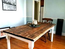How To Build A Dining Table Rustic Room Tables