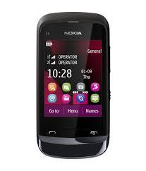 Nokia C2 03 C Black