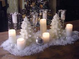 Winter Themed Table Centerpieces How To Create A Snowy Candle Centerpiece Hgtv