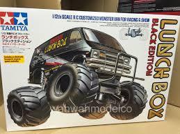 100 Monster Truck Lunch Box Tamiya 58546 112 Black Edition CW01 WESC