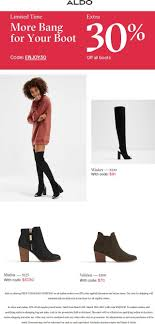 Pinned March 7th: Extra 30% Off Boots At #Aldo Or Online Via ... Discover Gift Card Coupon Amazon O Reilly Promo Codes 2019 Everyday Deals On Clothes And Accsories For Women Men Strivectin Promotion Code Old Spaghetti Factory Calgary Menu Gymshark Discount Off Tested Verified December 40 Amazing Rources To Master The Art Of Promoting Your Zalora Promo Code 15 Off 12 Sale Discounts Jcrew Drses Cashmere For Children Aldo 10 Dragon Ball Z Tickets Lidl Weekend Deals 24 Jan Sol Organix Fox Theatre Nutcracker
