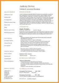 Medical Assistant Resume Skills Elegant 5 6 Examples Of A Fedupflyers Org