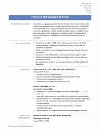 41 Simple Child Care Resume Duties Is I7219 Samples