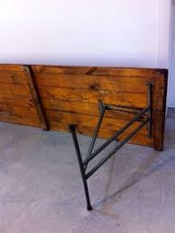 Large Vintage Industrial Retro Solid Timber Metal Trestle Table 10 Seater Melb In VIC