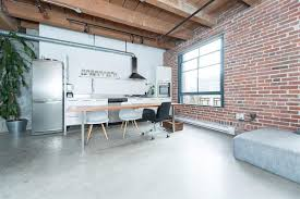 100 Brick Loft Apartments Modern Industrial Vancouver Apartment In Wood Concrete And
