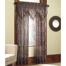 Sears Sheer Curtains And Valances by Tasseled Window Valance Decorating Your Home Is Fun With Sears