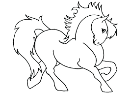 Coloring Horse Head Pages Free Printable Realistic