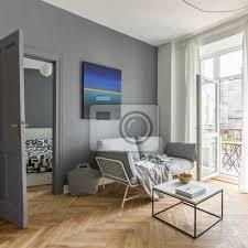 fototapete wohnzimmer im scandi stil