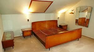 schlafzimmer komplett musterring späte 50er massiv mit