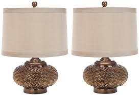 Lamp Shades Bed Bath And Beyond by Amazon Com Safavieh Lighting Collection Alexis Gold Bead 19 Inch
