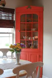 Paint Corner Cabinet Bright Or Maybe Metallic Dining Room Storage Ideas 19