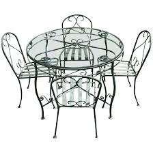 Wrought Iron Dining Set – Newmythworks.com