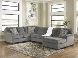 Loric Smoke Cuddler Sectional By Ashley Furniture