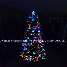 Fiber Optic Led Christmas Tree 7ft by Led Fibre Optic Christmas Tree Pre Lit Xmas Tree 2ft 3ft 3ft