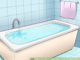 Unclogging A Bathtub Full Of Water by How To Use A Sump Pump To Flush A Toilet With Bathtub Water