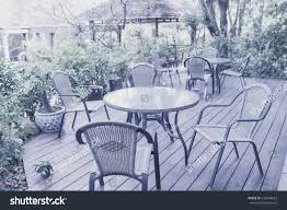 Tables Chairs Cafeteria Outside Garden Stock Photo (Edit Now ... All Weather Outdoor Patio Fniture Sets Vermont Woods Studios Small Metal Garden Table And Chairs Folding Cafe Tables And Chairs Outside With Big White Umbrella Plant Decor Benson Lumber Hdware Evaporative Living Ideas Architectural Digest Superstore Melbourne Massive Range Low Prices Depot Best Large Round Outside Iron Home Marvellous How To Clean Store Garden Fniture Ideas Inspiration Ikea