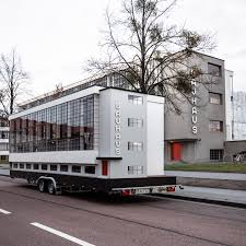 100 Bauhaus House Bus Embarks On World Tour To Explore A Global Legacy