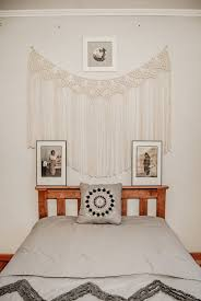 Macrame Curtain Wall Hanging Art Boho