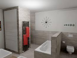 faszinierendes bad mit flächenbündigen wänden
