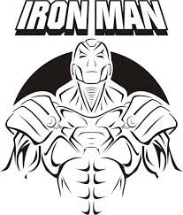 Iron Man Images For Coloring Pages