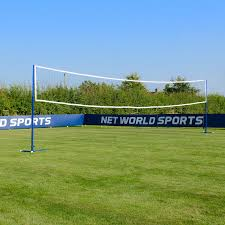Amazon.com : 28' Beach Volleyball Net [Net World Sports] - Indoor ... Grass Court Cstruction Outdoor Voeyball Systems Image On Remarkable Backyard Serious Net System Youtube How To Construct A Indoor Beach Blog Leagues Tournaments Vs Sand Sports Imports In Central Park Baden Champions Set Gold Medal Pro Power Amazing Unique Series And Badminton Dicks