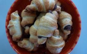 recette mini croissants au nutella 750g