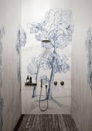 kleiner duschbereich mit designer badezimmer platten statt