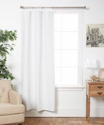 Thermal Curtain Liner Bed Bath And Beyond by Home Decorators Collection White Blackout Back Tab Curtain Liner