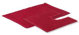 Red Bathroom Mat Set by Sabichi 2pc Popcorn Bath Mat Set U2013 Homely Ng