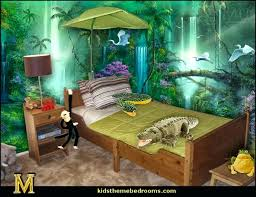 Bedroom Ideas Jungle Themed African Theme