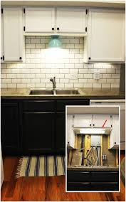 diy kitchen lighting upgrade led cabinet lights above the