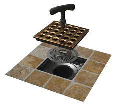 easy tile in square shower drains