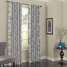 jessamy nature floral max blackout rod pocket single curtain panel