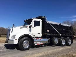100 Paccar Trucks 2016 Kenworth T880 Tri Axle Dump Truck MX13 455HP