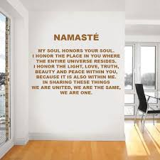 Absolutely Original 3D Cork Letters NAMASTE Wall Decor Motivation Quotes On The