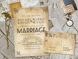 Amazing DIY Woodland Cutout Rustic Wedding Invitation