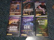 Set Of 6 HarlequinLove Inspired Suspense Large Print Books July 2018 Shipmen