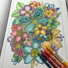 9 Coloring In My Book Color Supplies Used Are Listed The