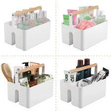 bad organizer mit zwei fächern mdesign 2er set badezimmer