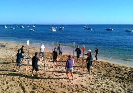 Enjoy Fun In The Sun With A Series Of Beach Activities And Games Theres