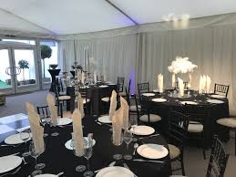 Black & White Party Marquee 1 - Jaspers Event Hire Wedding Table Set With Decoration For Fine Dning Or Setting Inspo Your Next Event Gc Hire Party Rentals Gallery Big Blue Sky Premier Series And Wood Folding Chair With Vinyl Seat Pad Free Storage Bag White Starlight Events South Wales Home Covers Of Lansing Decorations Chiavari Elegant All White Affaire Black White Red Gold Reception Decorations Pink Oconee Rental In Athens Atlanta